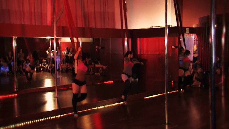 Aerial Dance performance, documentary video,<br /> Expo 2012 in Seduda Studios in Campbell, Ca. <br /> Recording in low light condition.