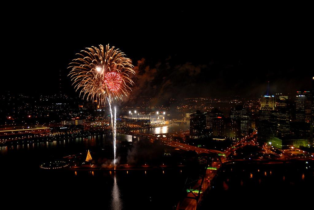 Light up night, Pittsburgh, PA