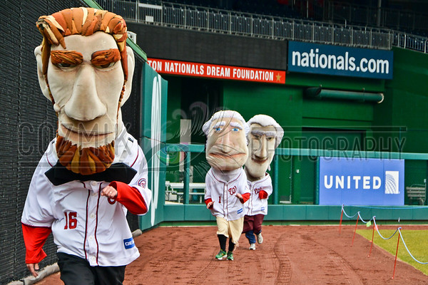 Racing Presidents Audition at Nationals Park, DC 2013