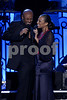 """Husband and wife duo Kenny Lattimore and Chante Moore perform songs by the legendary Smokey Robinson a recent taping of """"An Evening of Stars"""" hosted by the United Negro College Fund. This years recipient is Motowns legendary great Smokey Robinson.<br /> Pasadena, CA on Saturday, September 22, 2007<br /> (AP Photo\Earl Gibson III)"""