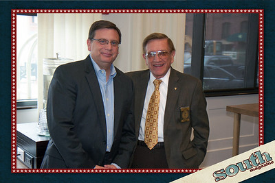 Joe Marinelli (Visit Savannah, President), Pete Liakakis (Chatham County Commissioner)