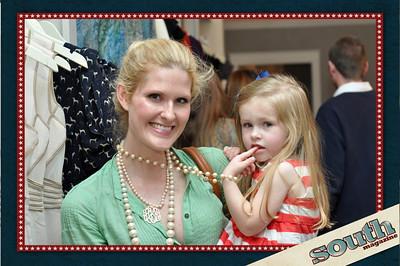 Heather Burge, Owner, BleuBelle Bridal; Lawson Burge