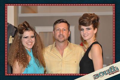 Caroline Molloy, Model; Kevin Ambrose, Owner, Tabby; Jessica Green, Model