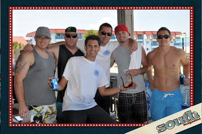 Alex Reed, Club 51 Degrees; Brandon Ramirez, Club 51 Degrees; Brad Sellars, Club 51 Degrees; Wesley Bragg, Champion Brands Red Bull; Tony Popovic, Tony's Steak House; (front) Mystik NRG