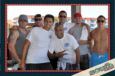 Alex Reed, Club 51 Degrees; Brandon Ramirez, Club 51 Degrees; Brad Sellars, Club 51 Degrees; Wesley Bragg, Champion Brands Red Bull; Tony Popovic, Tony's Steak House; (front) Mystik NRG; Craig Comacho, Club 51 Degrees