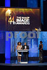 LOS ANGELES, CA - FEBRUARY 01:  Actors Tanika Ray and Kyle Massey speak onstage at the 44th NAACP Image Awards at The Shrine Auditorium on February 1, 2013 in Los Angeles, California.  (Photo by Earl Gibson III/WireImage)