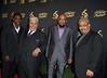 The Rance Allen Group appears on the red carpet for the 27th Annual Stellar Awards at The Grand Ole Opry House on Saturday January 14, 2012 in Nashville, TN<br /> (AP Photo/Earl Gibson III)