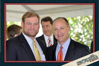 Tripp Turner, JT Turner Construction; David Paddison, President, Seacrest Partners