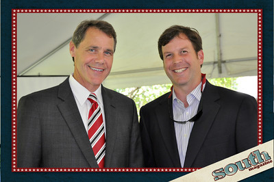 Daniel Carey, President & CEO, Historic Savannah Foundation; Capers Martin, Capers Martin Construction