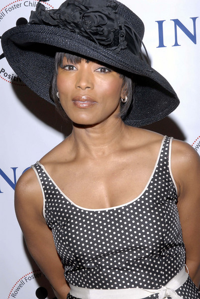 "Angela Bassett (Oscar Nominee)  arrived at the Red Carpet celebration for ""The Rowell Foster Children's Positive Plan Foundation"" established by author and actress Victoria Rowell. The event was entitled "" High Tea @ Noon"" Event held in Los Angeles, CA<br /> (AP Photo/Earl Gibson III )"