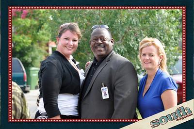 Collin Maria Ezzell; Dave German, WJCL; Jennifer Forbes