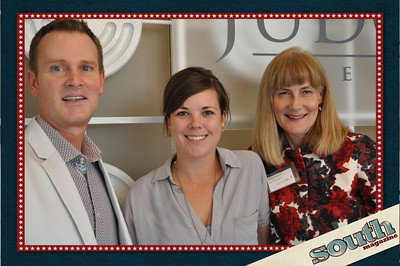 Tripp Williams, Property Management Assistant, Judge Realty; Meredith Sutton; Debbie Dennis, Sales Associate, Judge Realty