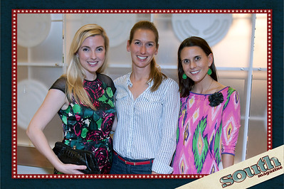 Katherine Albert (Historic Savannah Foundation, Volunteer), Andrea Goto (SCAD Instructor), Laurie Devegter (Busy Bee Vacations)