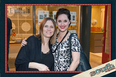 Melanie Simon (South magazine, Travel Editor), Christine Routhier (SCAD, Executive Director of the Trustees Theatre)