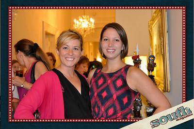 Erin Wessling, Marketing Director, South Magazine; Erin Hunsberger, Managing Editor, South Magazine