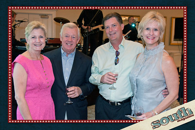 Lydia & Jerry Barton, Robert & Myra Hill