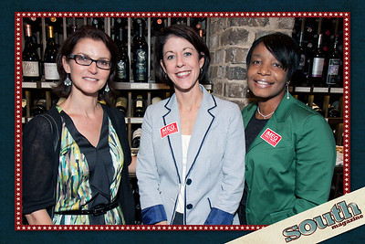 Nicole Conway (South Magazine, Sales Consultant), Meg Heap, Kesha Gibson-Carter