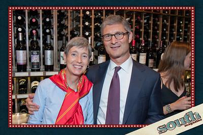 Eleanor Rhangos (LETR & Co.), Dan Bromstad (Wells Fargo Advisor)