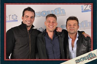 Dean Caldarelli, owner DC2 Design and SubZero; Eric Sharpe; Dimitri Chami, owner SubZero