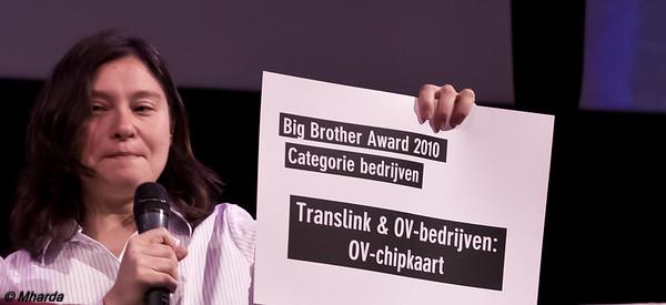 IMGP2661 - Melanie Rieback was jurylid Bedrijven tijdens de #BBA2010