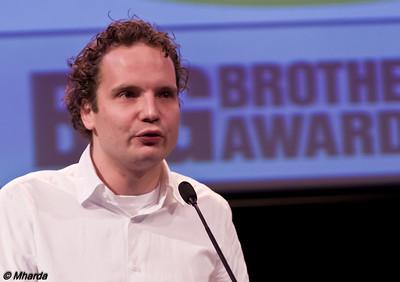 IMGP2670 - Jeroen van Beek, Ethical Hacker, tijdens #BBA2010