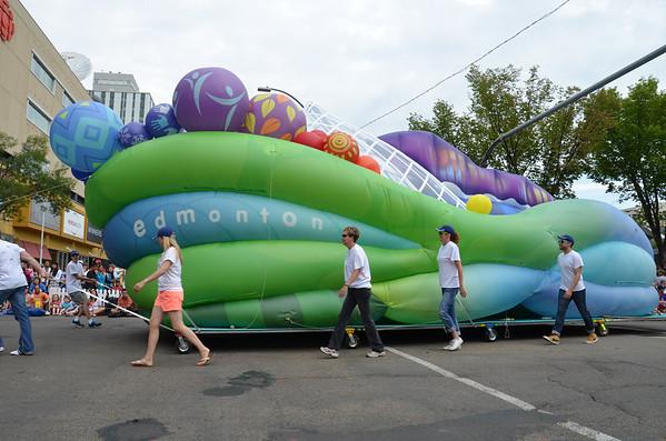 City of Edmonton Parade Float