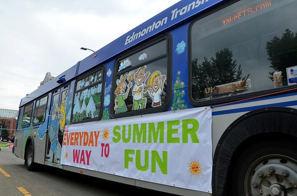 Edmonton Transit Bus