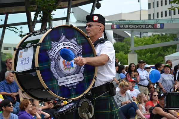 City of Edmonton<br /> Edmonton Transit System (ETS) Pipes & Drums Band