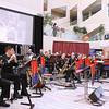 Royal Canadian Artillery Band concert for Veterans on 10 Nov 2013 in Edm City Hall.