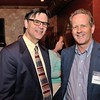 Andy Johnston, Exec. Dir. of Loundoun Cares and Peter Arrundel publisher of the Loudoun Times Mirror