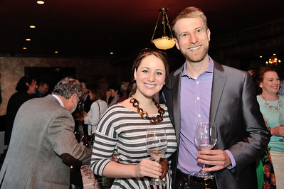 Washington DC wine blogger Alison Marriott of Bonvivant Wine Consulting and Jonathan Bettis of Arlington