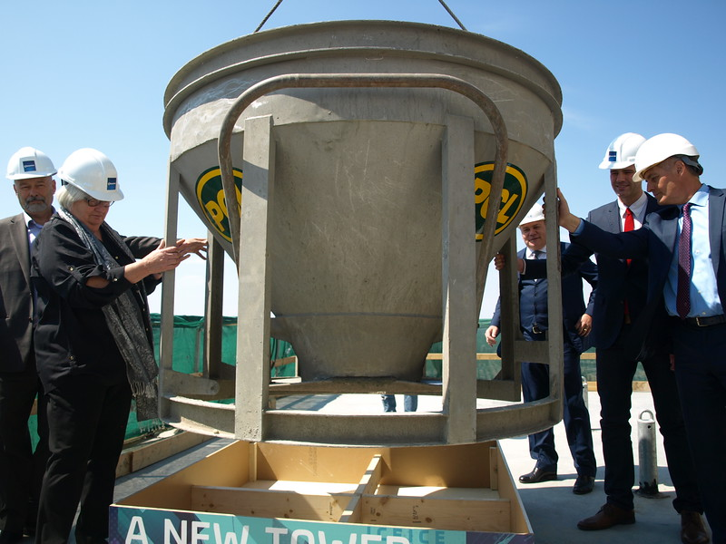 May 25th Topping Off Ceremony at Edmonton Tower