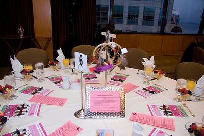 GirlsFirst Breakfast Tables - 2010