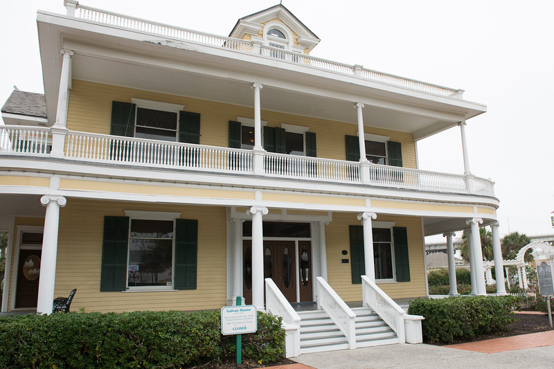 C-Span Washington representatives, visited the Galvan House in Corpus Christi, Tx.