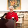 Mayor Nelda Martinez, speaks during the C-Span press conference in the Galvan House in Corpus Christi, Tx.
