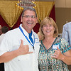 Edgar De La Garza/Texas A&M Univeristy Corpus Christi<br /> Ed Cantu and Carol Blackmar at the TAMU-CC Casino Night Athletic Fundraiser, Saturday August 08, 2015.