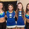 Edgar De La Garza/Texas A&M Univeristy Corpus Christi<br /> Alexis Arreola(left) Kia Latham, Ciara Castro and Ruby Leal at the TAMU-CC Casino Night Athletic Fundraiser, Saturday Augsut 08, 2015.