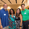 Edgar De La Garza/Texas A&M Univeristy Corpus Christi<br /> Willis Wilson(left) Vicki Wilson, Maria Iyescas and Kenneth Iyescas at the TAMU-CC Casino Night Athletic Fundraiser, Saturday August 08, 2015.