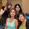 Kaleigh Leckbee(left) Patricia Kernan, Michelle Prado and Jessica Reyes