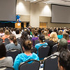Beth Halloway, keynote speaker at the TAMU-CC Girls Night Out event. Over 500 students attended the event welcoming them into college. Tuesday September 01, 2015