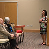 Dr. Maggie Rivas-Riojas(right), guest speaker and Professor at University of Texas at Austin.