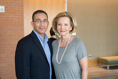 Abel Herrero and Geanie Morrison at the Texas Tribune event. Monday September 28, 2015 at TAMU-CC.