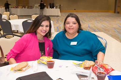 Belinda Villarreal and Norma Gonzales at the Texas Tribune event. Monday September 28, 2015 at TAMU-CC.