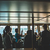 Families tour into the bridge of the Ocearch vessel. Monday October 12, 2015.