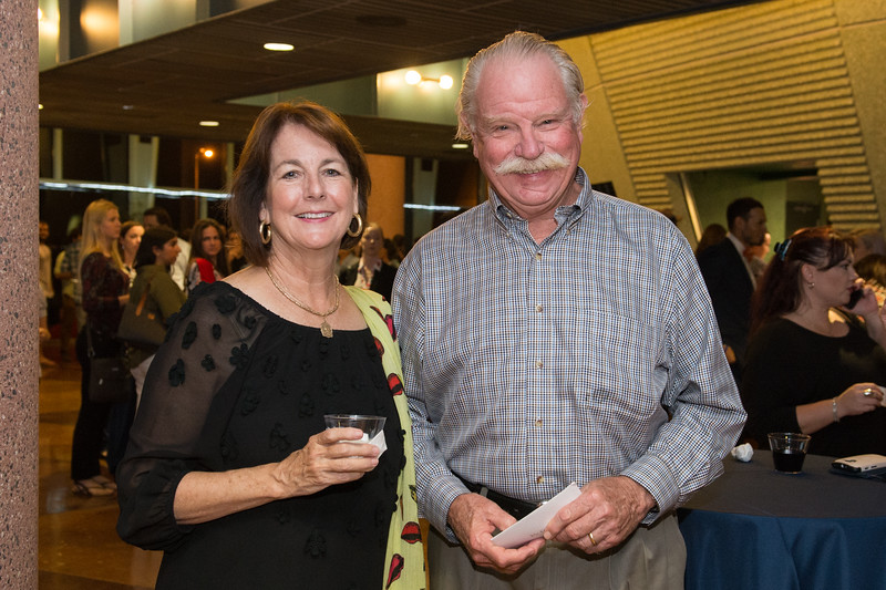 Jane McKee and David McKee at the DSS Bill Nye event. Wednesday Oct 21, 2015.