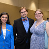Shannay Bradaran, Drian Sorrell, Lynthia Knowles at the TAMU-CC Distinguished Speaker Series Bill Nye. Wednesday October 21, 2015.