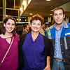Caitlin Chupe, Gilda Reamirez and Jonas Chupe at the TAMU-CC DSS Bill Nye event. Wednesday October 21, 2015.