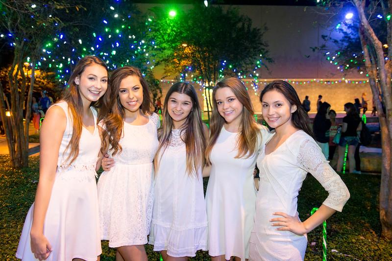 Ciel Morgan(left) Lysette Lara, Taryn Portanova, Abby Post and Molly Sibrian.