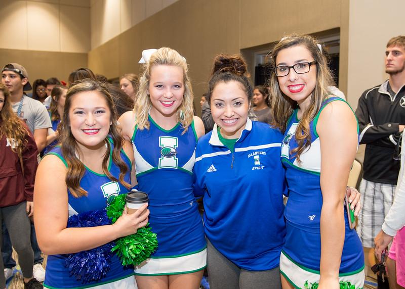 Sarah Salinas(left) Lauren Hughes, Alyssa Echeverria and Tatum Carillo.
