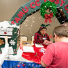 The TAMU-CC Post Office assisted guests wanting to send their letters to Santa at the Islander Lights celebration.